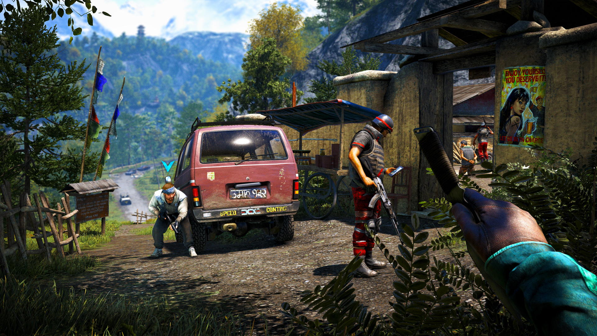 how to join your friends game in far cry 4