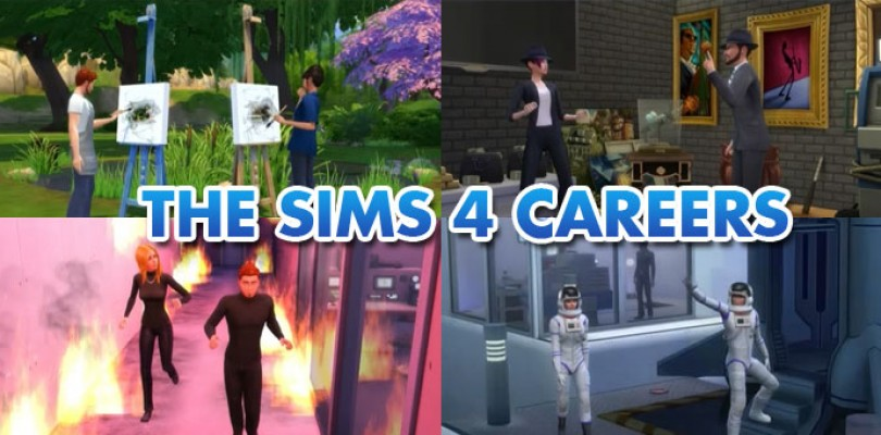 New Careers Added In The Sims 4!