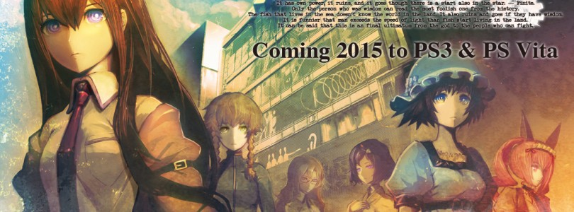 STEINS;GATE coming to PS Vita and PS3 in Europe and North America in 2015