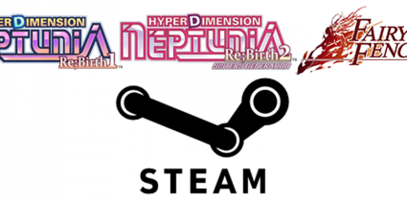 Hyperdimension Neptunia Re;Birth1, Hyperdimension Neptunia Re;Birth2: Sisters Generation and Fairy Fencer F Coming to Steam