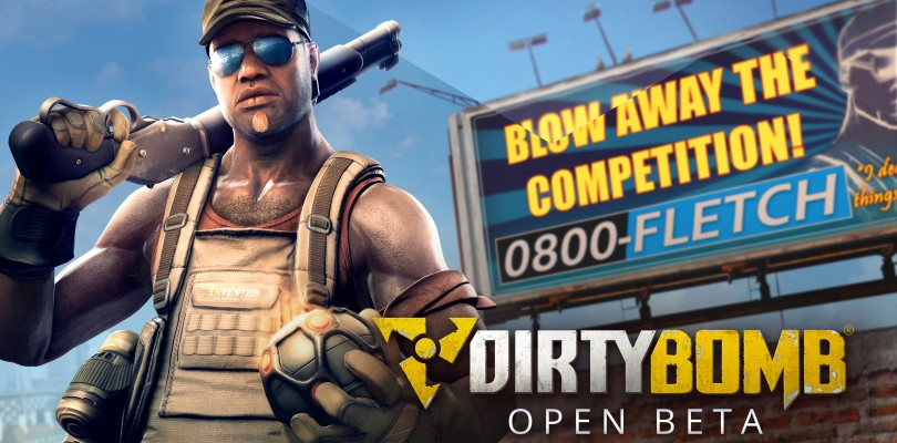 Dirty Bomb goes Open Beta on Steam