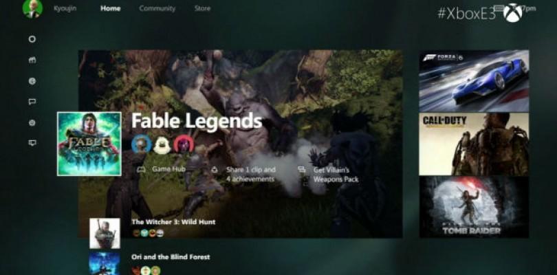 E3 2015: New Xbox Dashboard Coming in the Future