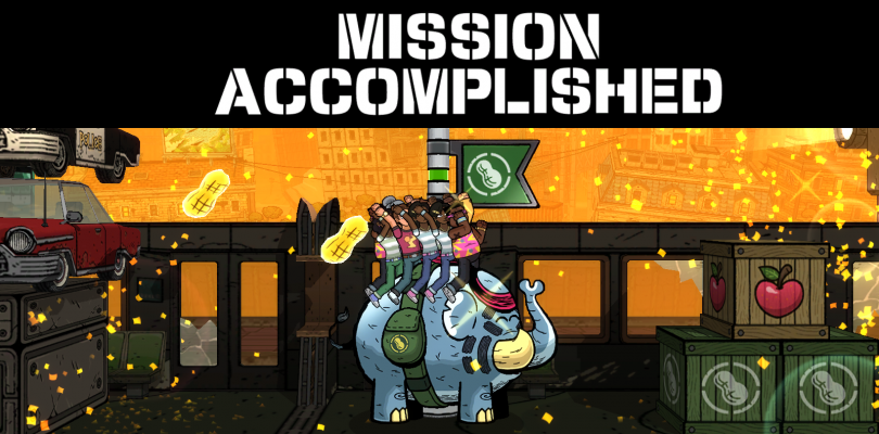 Get Ready To Go (Pea)Nuts Over Tembo The Badass Elephant!
