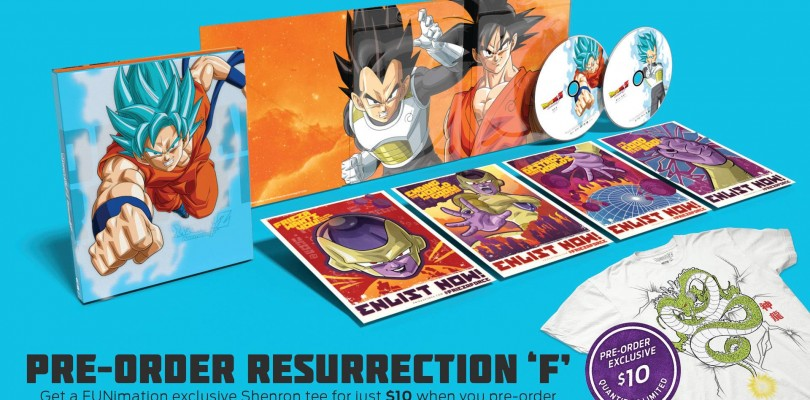 FUNimation Entertainment Announces Dragon Ball Z: Resurrection 'F' comes to Home Video Oct. 20th