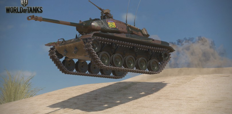 Man the Brazillian tank early in World of Tanks on the Xbox Family