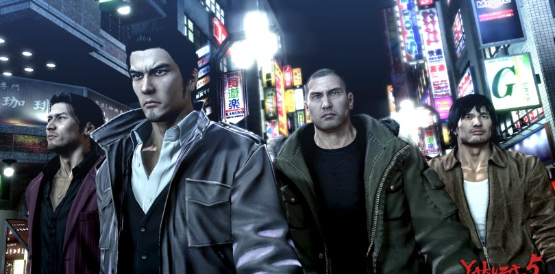 """Yakuza 5's """"Where Are They Now"""" Edition — The Five Protagonists"""