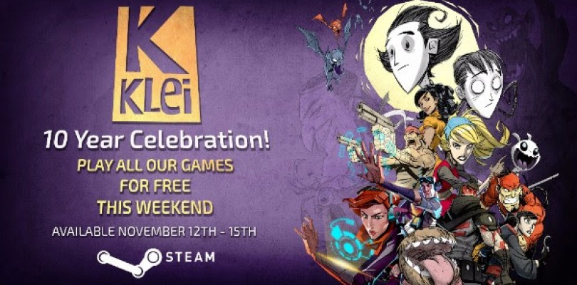 Klei Entertainment 10 Year Celebration and Sale