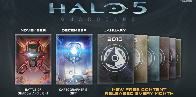 Halo 5 Update Announced. Get Ready To Build!
