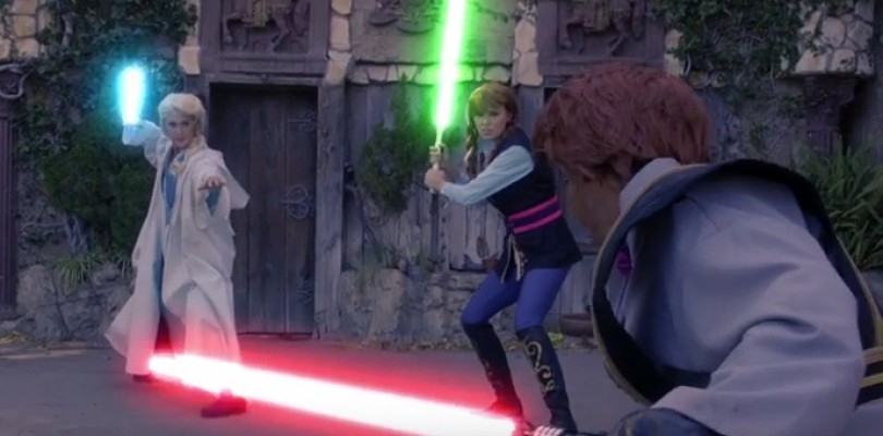 Frozen's Elsa and Anna Join the Light Side!
