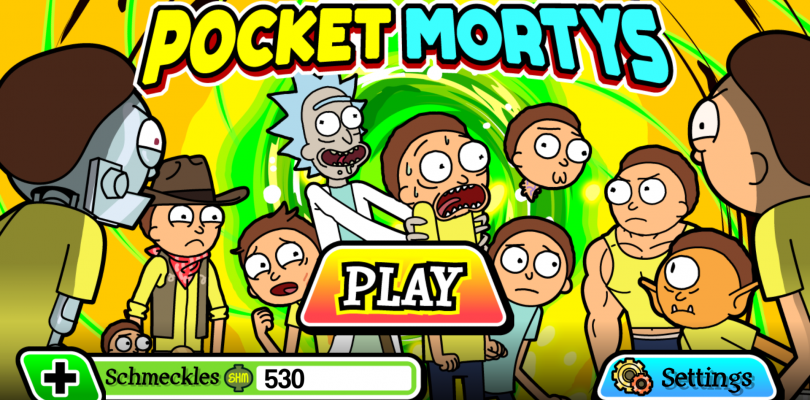 Hands-on Impressions: Pocket Mortys!