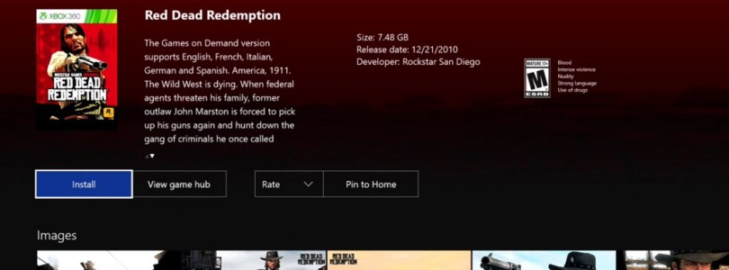 Red Dead Redemption, Symphony of the Night, Tekken Tag Tournament 2 and More Coming to Xbox One BC?