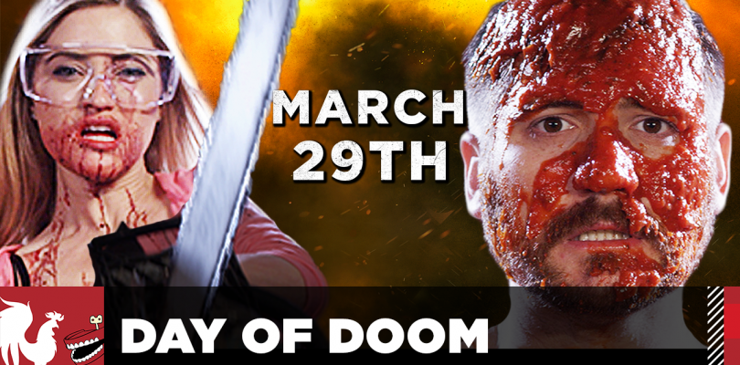 Youtubers Take on Athletes in DAY OF DOOM