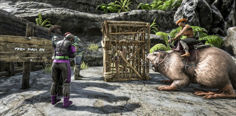Handcuffs and Beavers. Not what you think, it's Ark's Newest Xbox One Content!