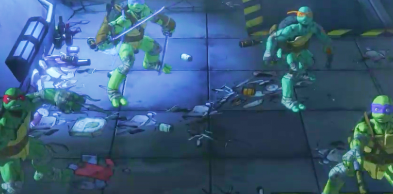 New Trailer Shows Off The Scale Of The New TMNT Game!