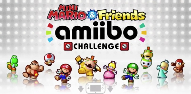 Mini Mario and Friends Amiibo Challenge 3DS Codes Giveaway