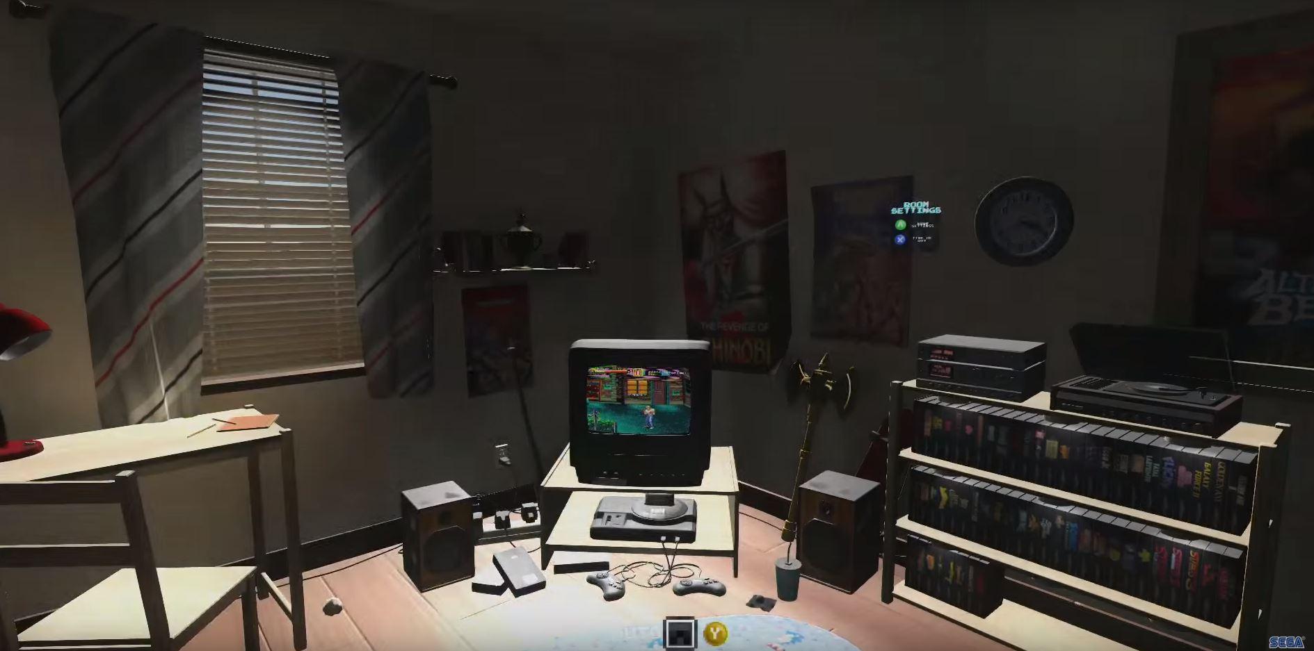 Sega Mega Drive Bedroom Simulator Coming Soon Marooners
