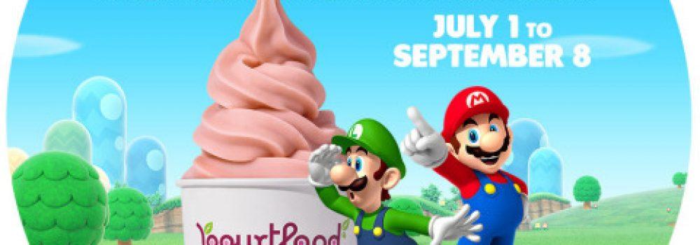 Nintendo Teams up with Yogurtland Stores This Summer