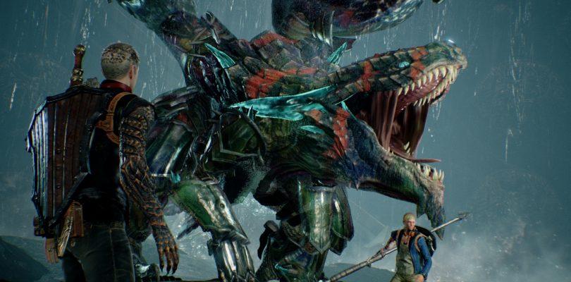 Scalebound Co-Op Gameplay Revealed