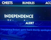 Not the Best Server Message to Read in Smite