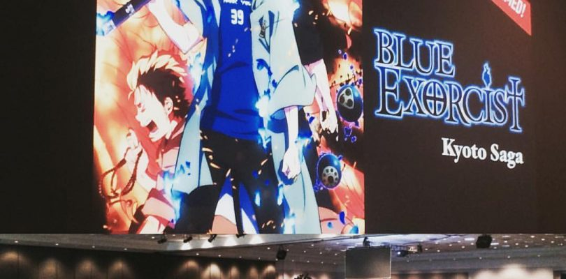 Blue Exorcist Kyoto Saga Announced at Anime Expo