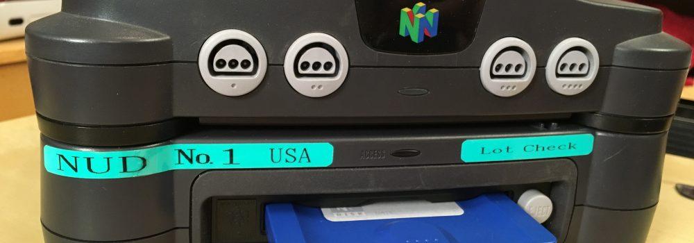 Nintendo 64 Disk Drive Prototype Found