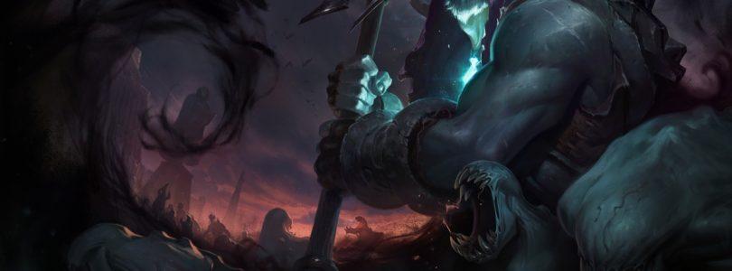 League of Legends Yorick The Sheperd of Souls Update Looks Like War from Darksiders