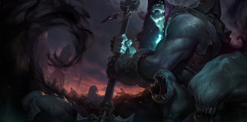 League of Legends Yorick The Sheperd of Souls Update Looks Like War from Darksiders