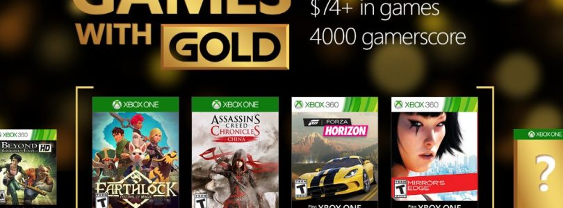 September Games with Gold Titles for Xbox Confirmed