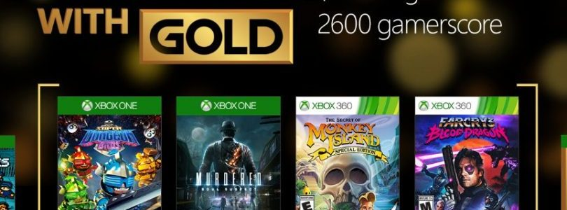 November's Games with Gold Announced