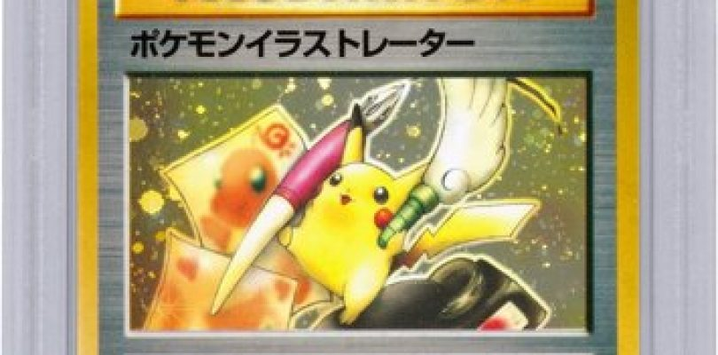 World's Most Valuable Pokémon Card Sold at Auction for Nearly $55,000