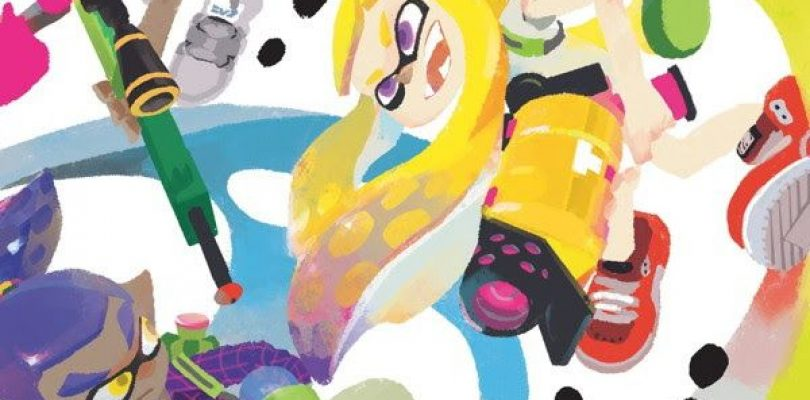 The Art of Splatoon Coming from Dark Horse in 2017