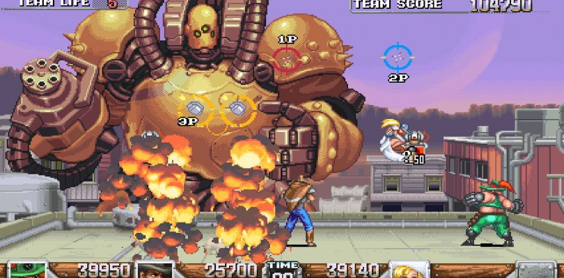 Wild Guns Reloaded to Hit PS4 Later this Month
