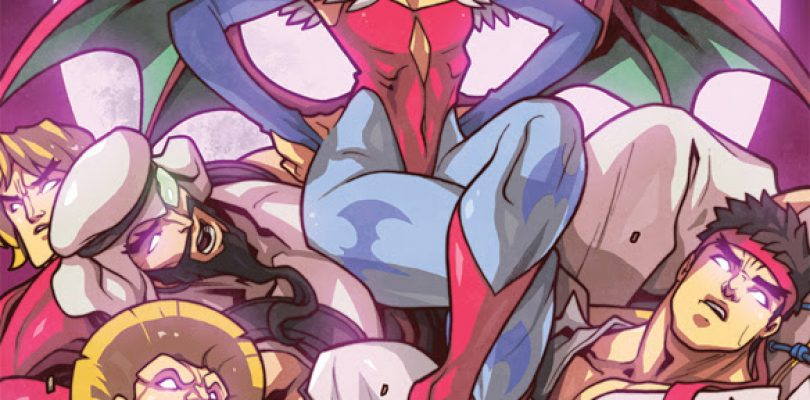 New Street Fighter VS. Darkstalkers Comic coming from Udon Entertainment