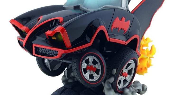 Cryptozoic Releases Batman Classic TV Series Batmobile Statue This Week