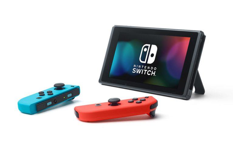 Neon Nintendo Switch System