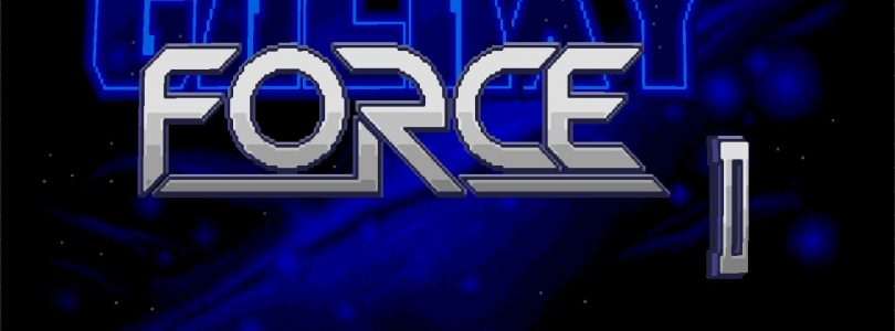 Galaxy Force II Title Screen