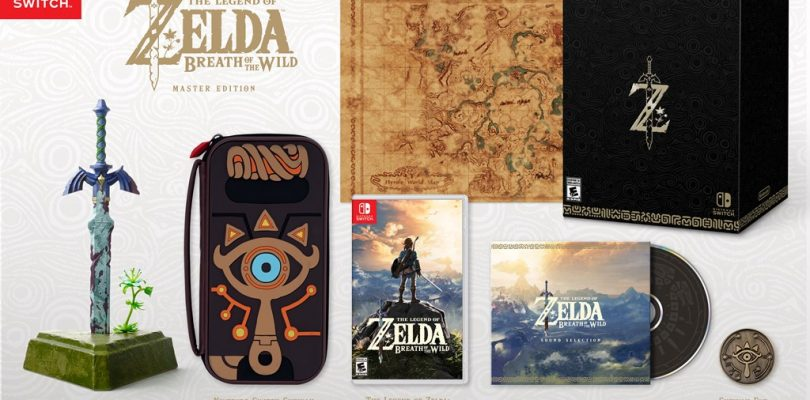 Zelda Breath of the Wild Masters Edition Contents