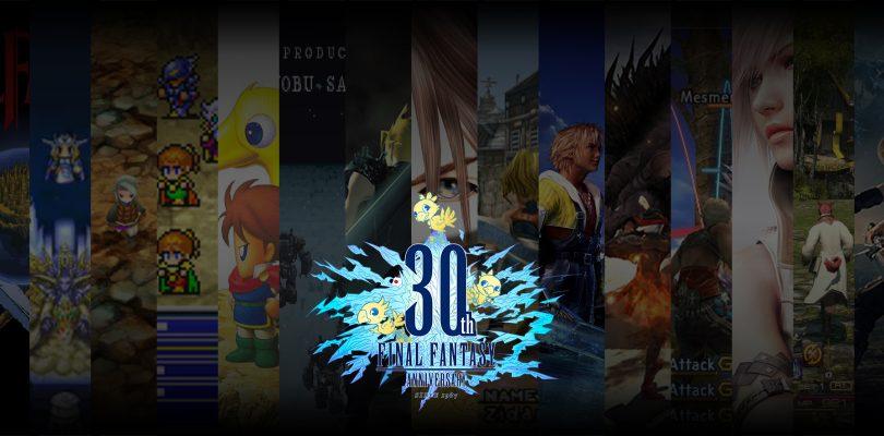 Final Fantasy Celebrates 30 Years!