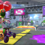 Splatoon Characters in Mario Kart 8 Deluxe