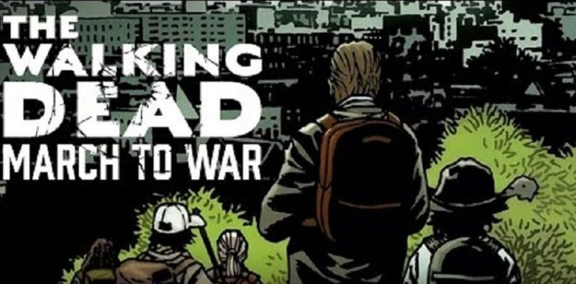 The Walking Dead: March to War Art Revealed