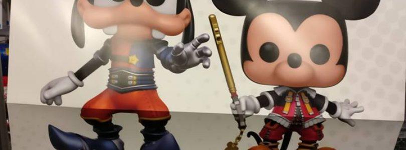 Kingdom Hearts Funko Pops Announced