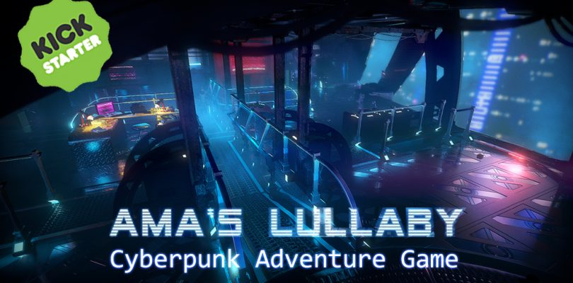 Kickstarter: Ama's Lullaby Gives Cyberpunk Adventure a Makeover