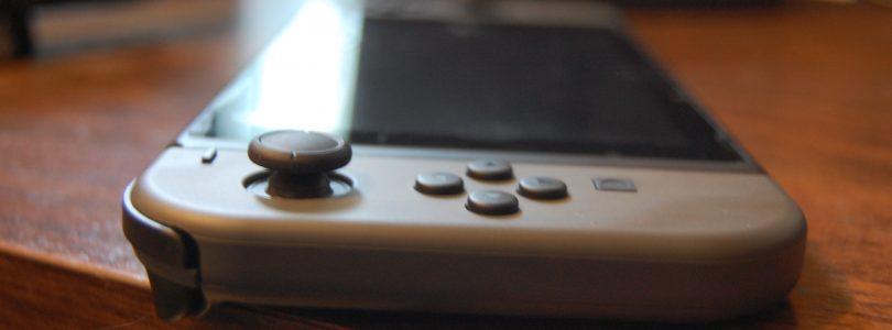 Nintendo Switch slick angle
