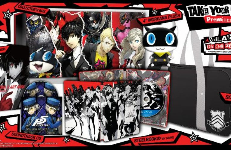 """ATLUS Reveals Contents Of Persona 5 """"Take Your Heart"""" Premium Edition"""
