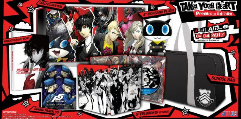 ATLUS Reveals Contents Of Persona 5 Take Your Heart Premium Edition