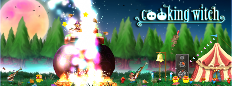 Grab your broom, Cooking Witch is out on Steam!