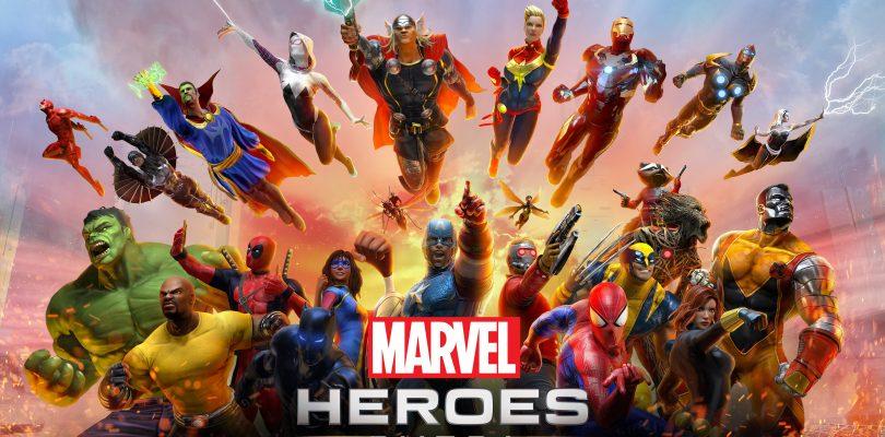 Marvel Heroes Omega Key Art
