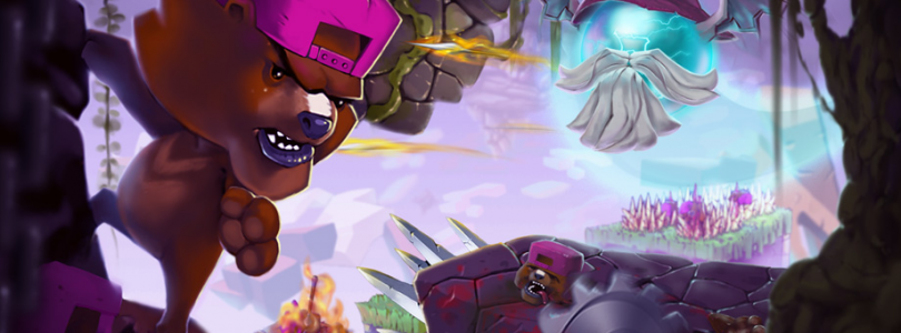 Super Rude Bear Resurrection art
