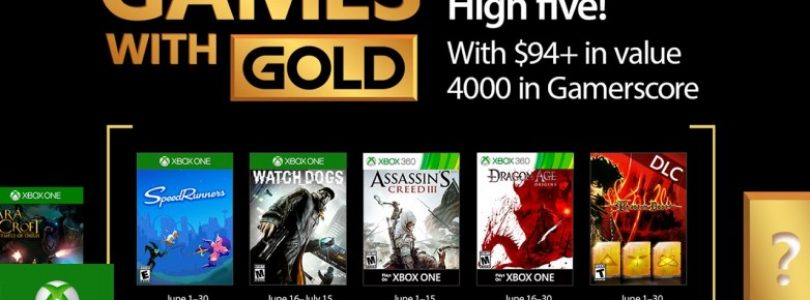 June 2017's Xbox Games with Gold