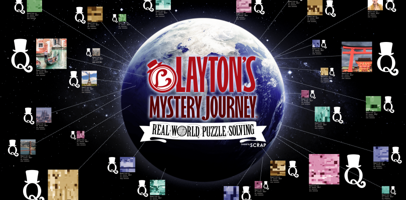 Layton's Real World Puzzle Solving Launches